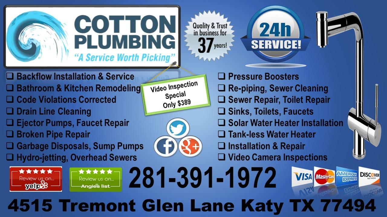 cotton-plumbing