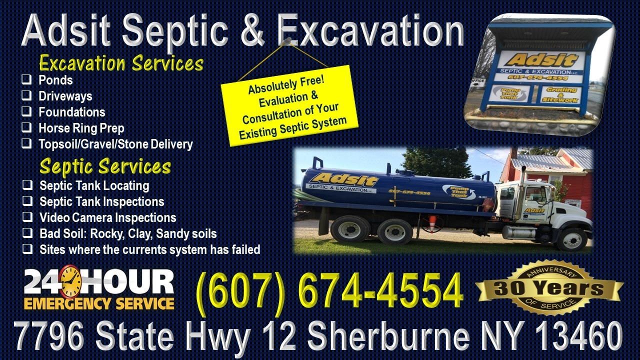 Adsit Septic Excavation - New York