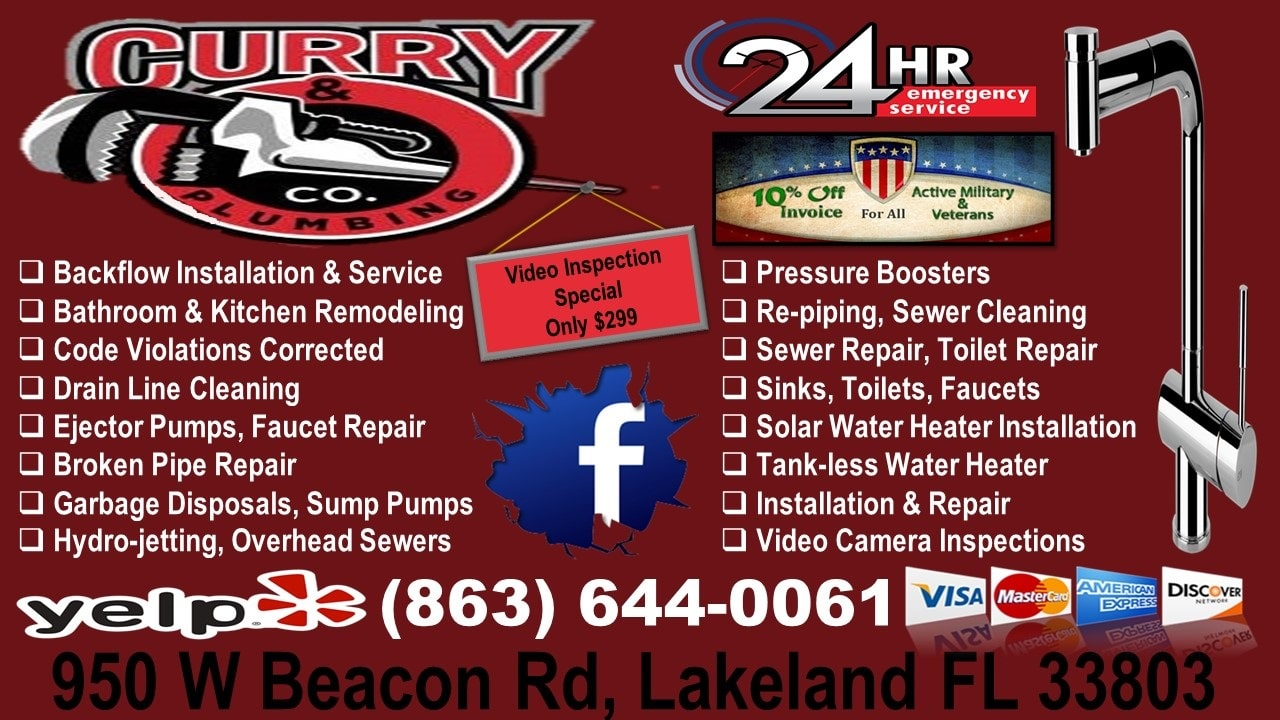 Curry & Co Plumbing - Florida