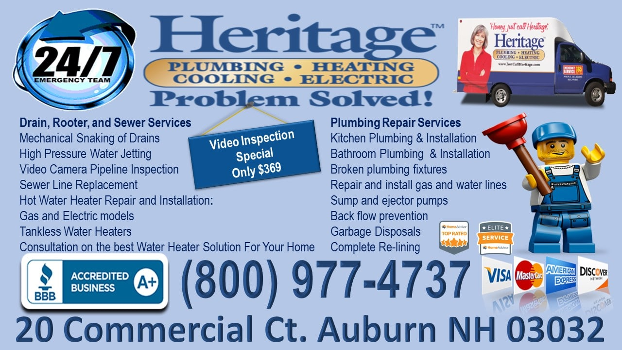 Heritage Plumbing - New Hampshire