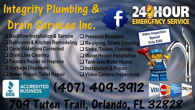 Integrity Plumbing - Florida