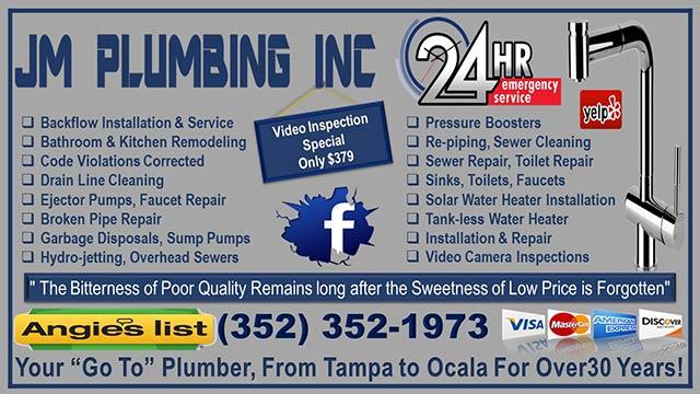 JM Plumbing - Florida