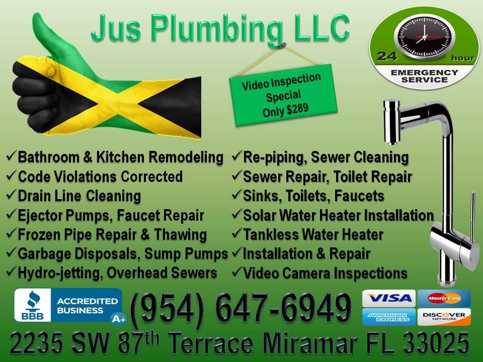 Jus Plumbing - Florida