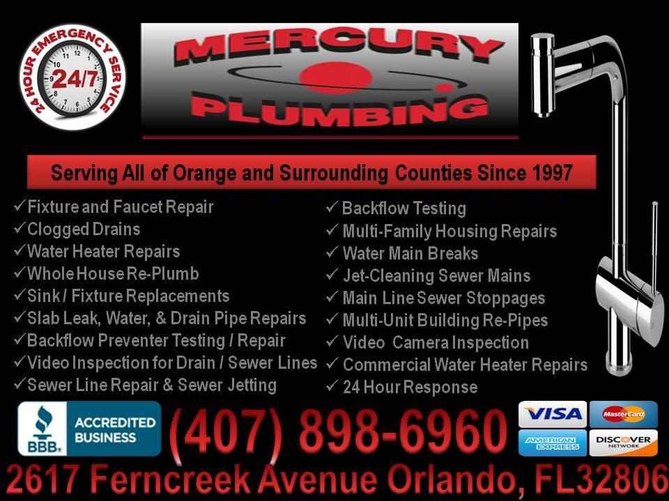Mercury Plumbing - Florida