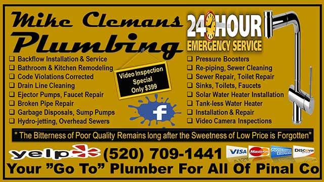 Mike Clemans Plumbing - Arizona