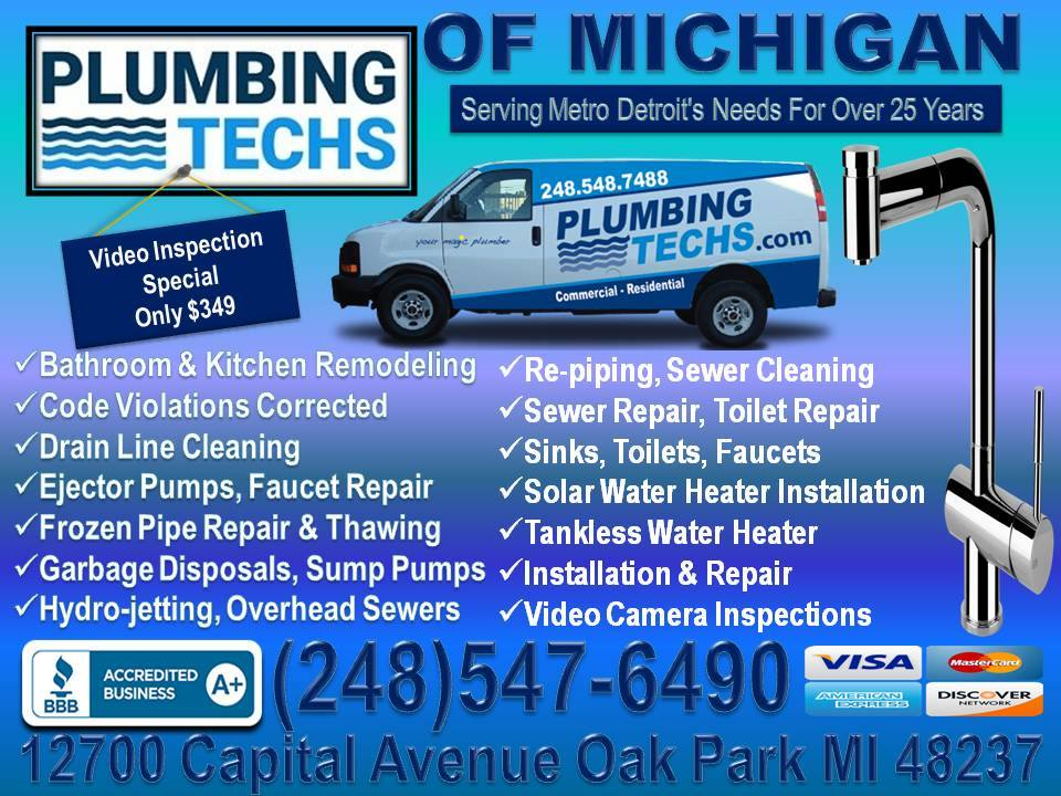 Plumbing Techs of Michigan