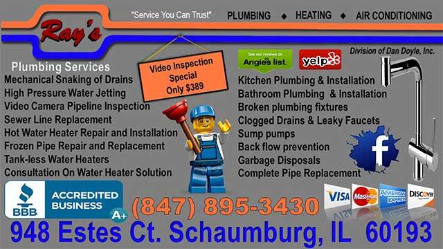 Rays Plumbing - Illinois