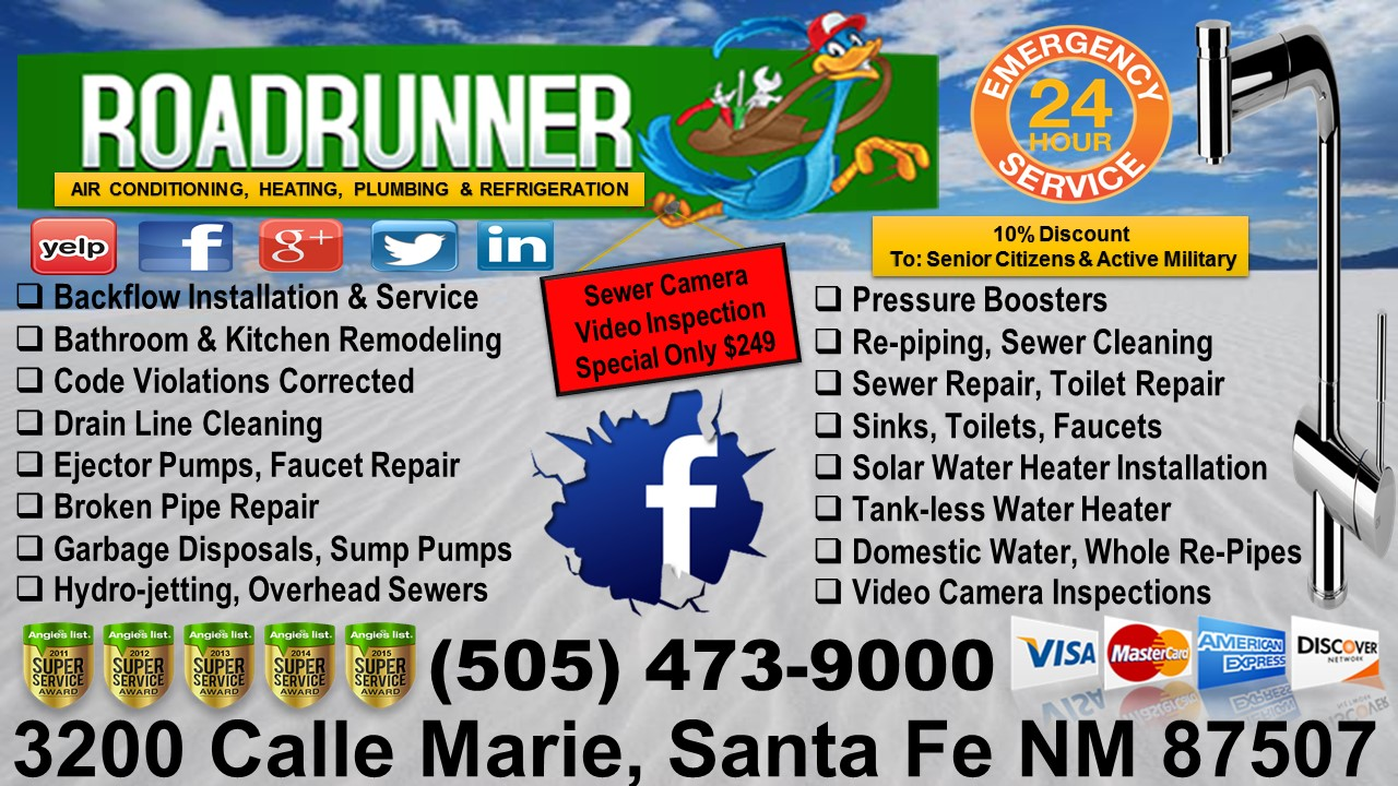 Roadrunner Plumbing - New Mexico