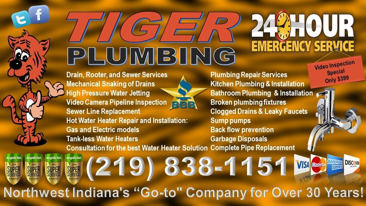 Tiger Plumbing - Indiana