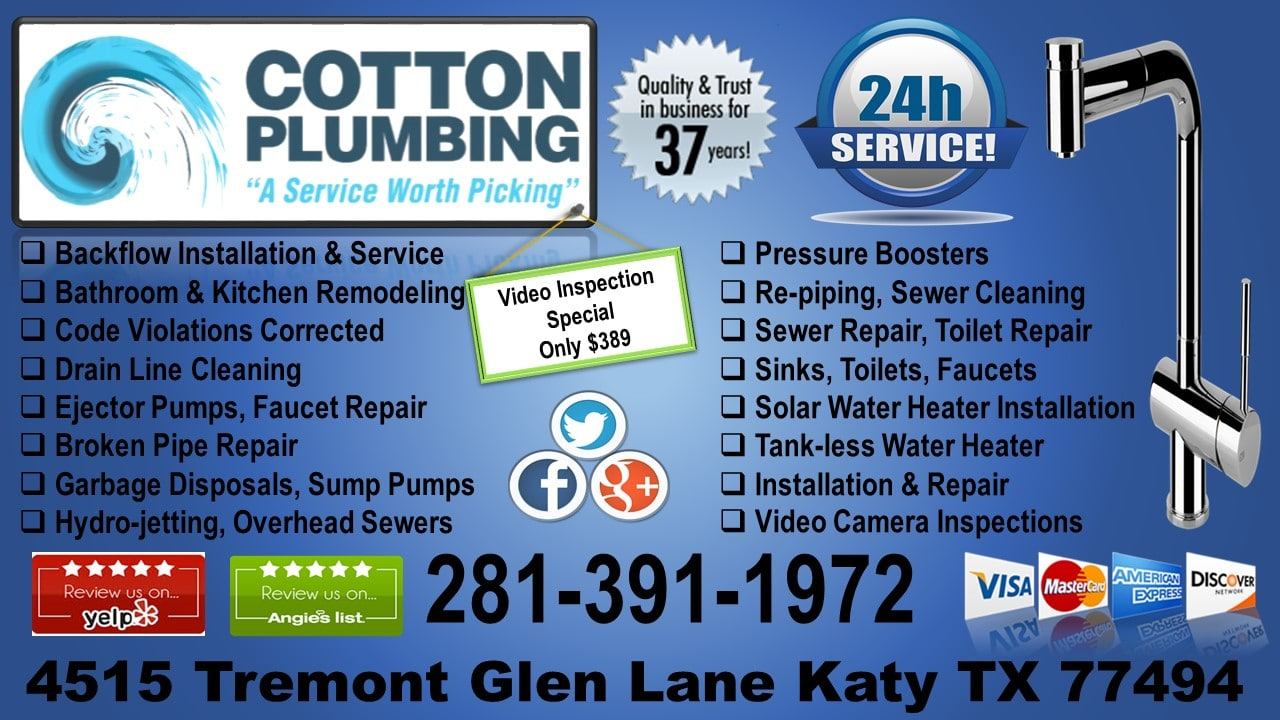 Cotton Plumbing - Texas