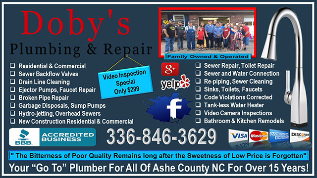 Dobys Plumbing and Repair - North Carolina