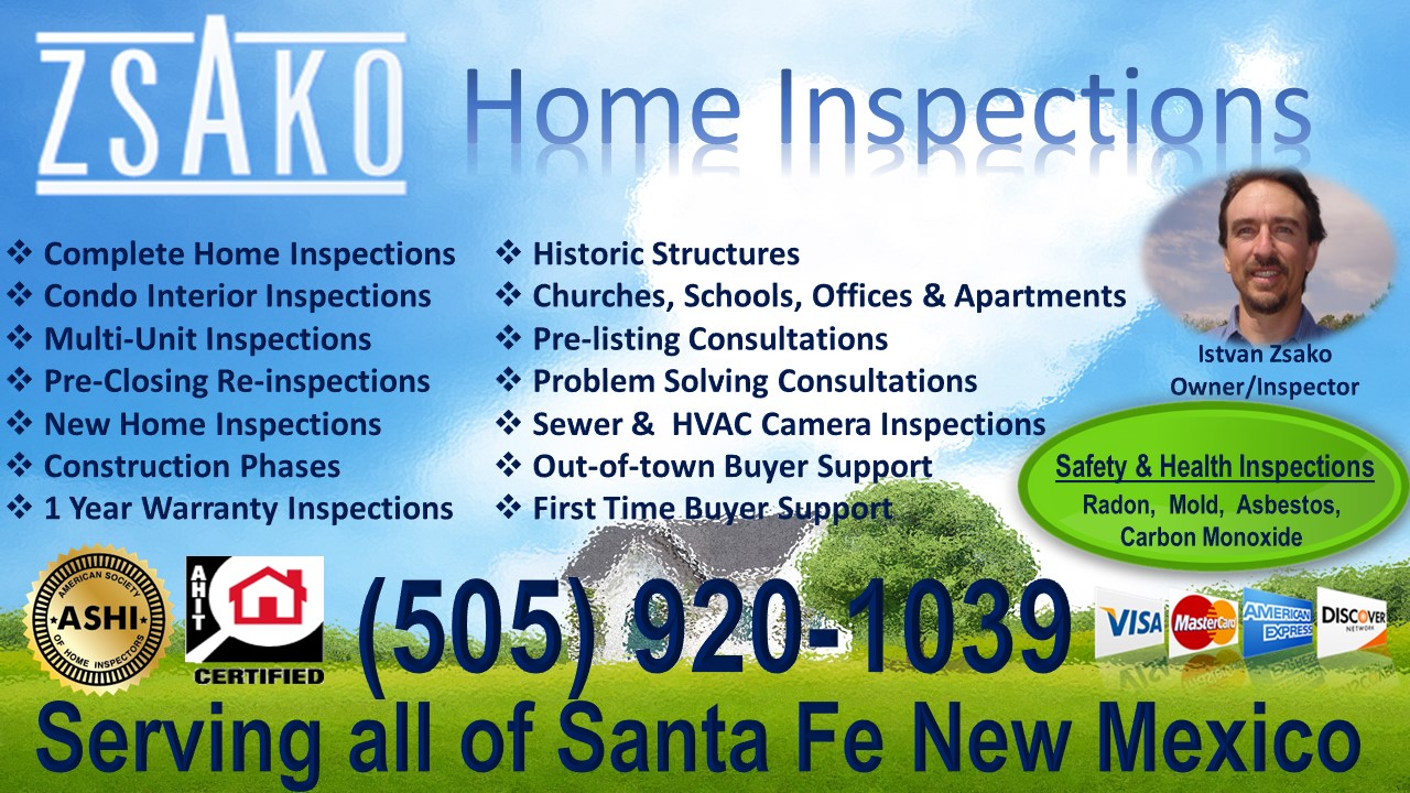 Zsako Home Inspections - New Mexico